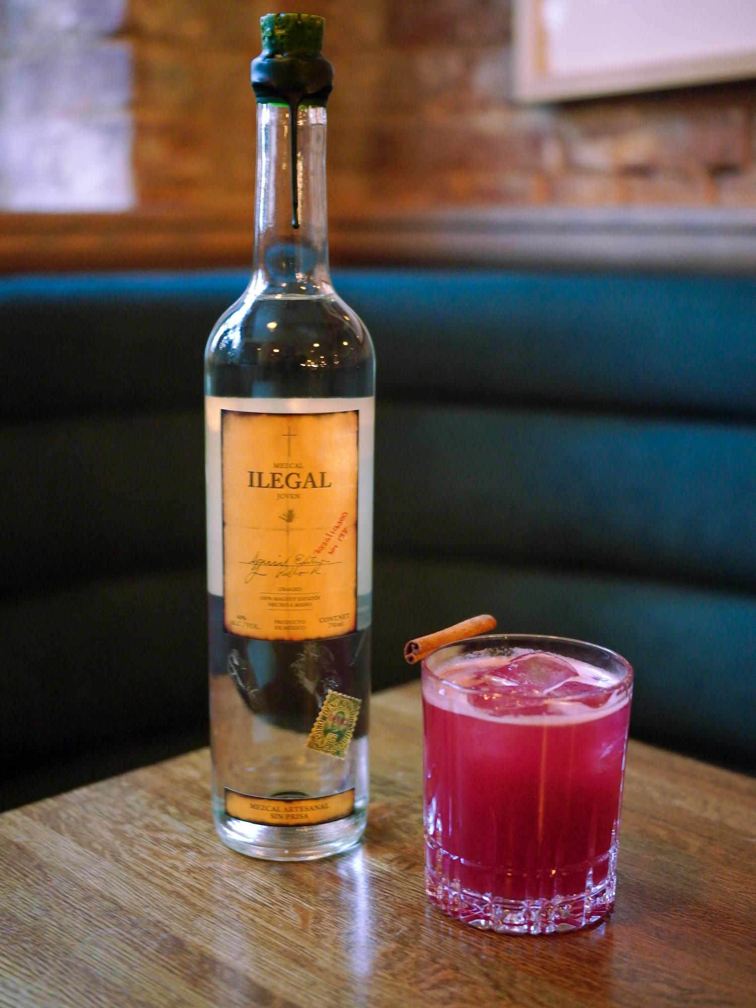 Ilegal Mezcal Cocktails - Otono